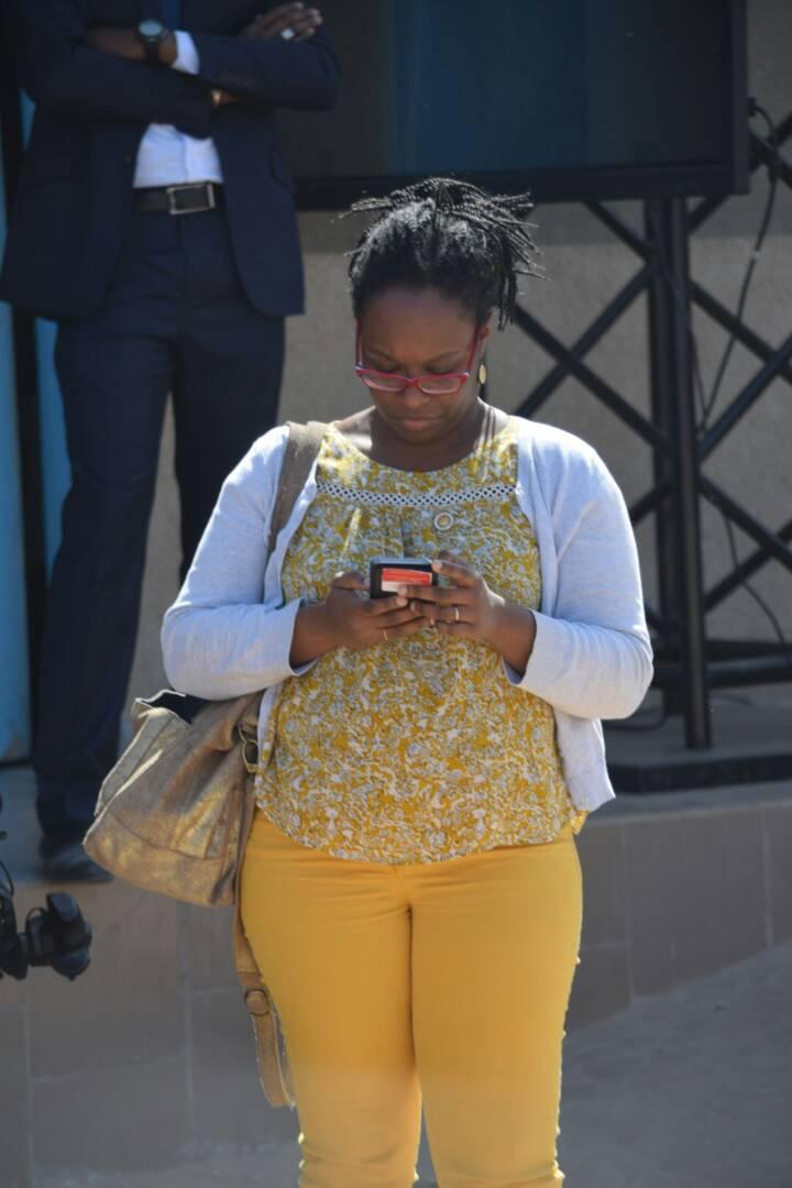 Photos : Sibeth Ndiaye, la gardienne de l'image de Macron à Saint-Louis