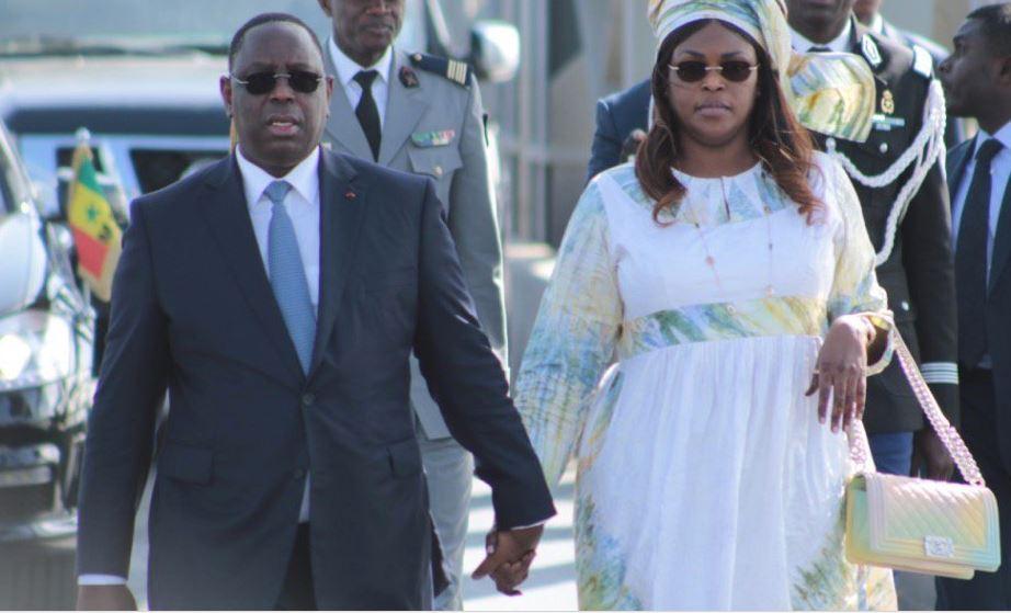 Photo : Macky et Marième Faye Sall, quel beau couple présidentiel !!!