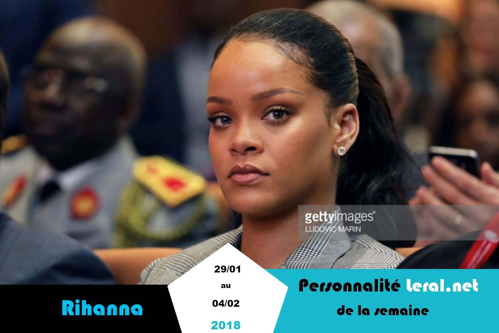 Rihanna éclipse Youssou Ndour, Macron et Macky Sall à Diamniadio (Personnalité Leral.net de la semaine)