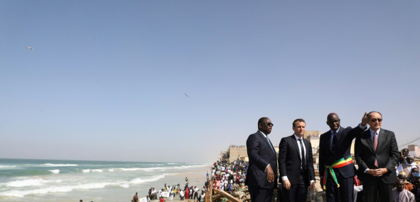 Visite de Macron au Sénégal : « La future digue de Saint-Louis ne protégera pas contre l'érosion côtière »