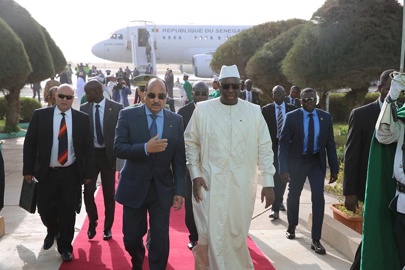 Macky Sall bien accueilli à Nouakchott