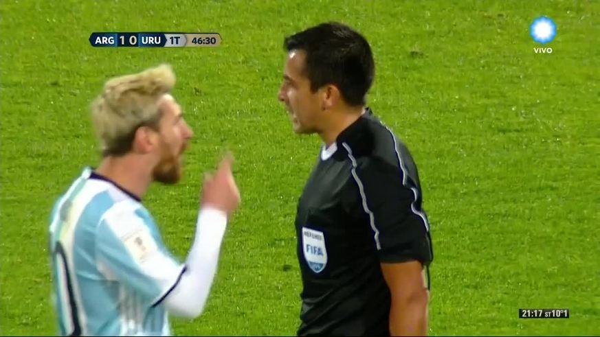 Quand Messi se la joue mauvais garçon !