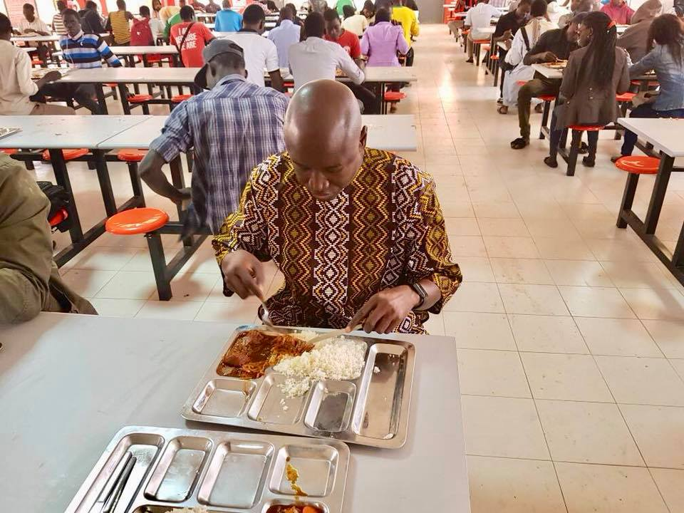Photos : Aly Ngouille Ndiaye redevient étudiant à l'UCAD
