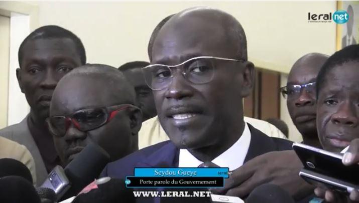 """Seydou Guèye : """"personne n'osera plus dilapider les ressources sous le prétexte fallacieux de fonds perdus dans une caisse noire"""""""