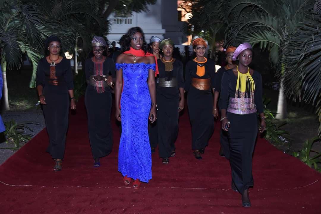 Photos: Admirez la beaute des hôtesses du dîner offert par Marième Faye Sall, Première dame du Senegal