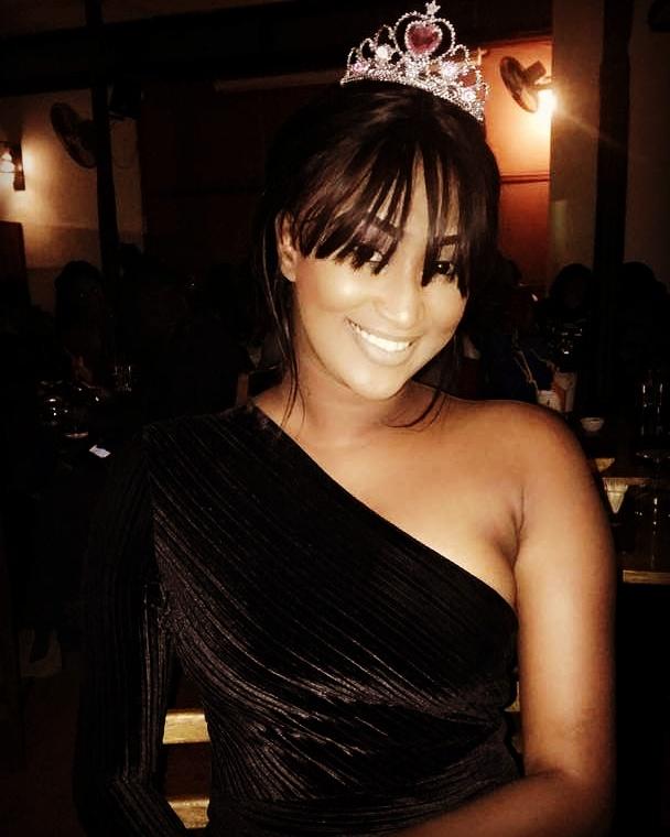 "Photos: La ravissante Aicha Guèye, l'ex-présentatrice de ""Sama Time"""