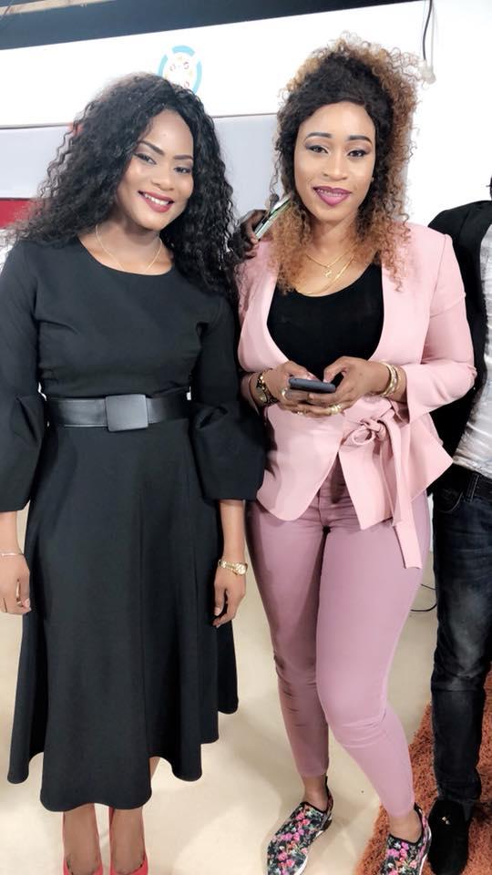 Merry Bèye Diouf et Aïda Samb en mode Saint-Valentin