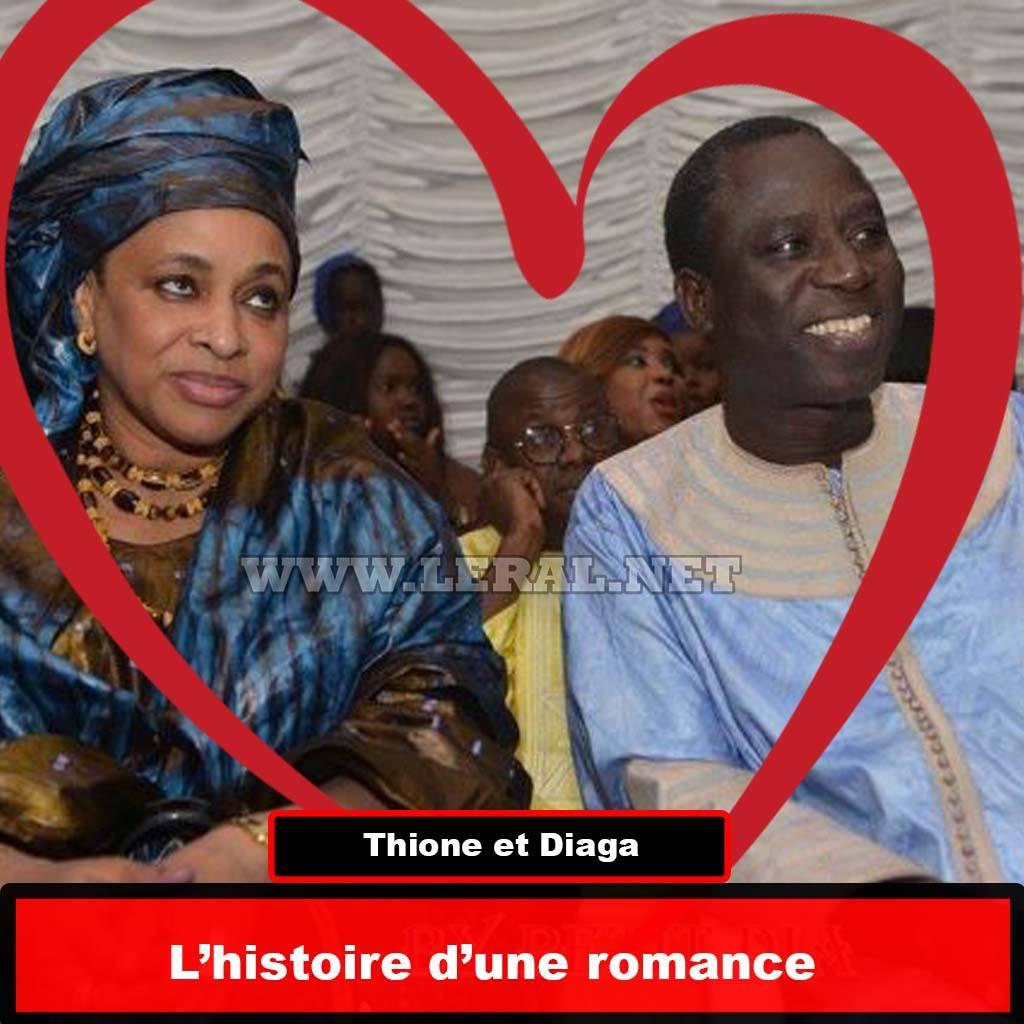 """Thione Seck à Ndèye Fatou Diaga : """"Tant que je m'accrocherais à tes branches, je ne me soucierai d'aucune avalanche"""""""