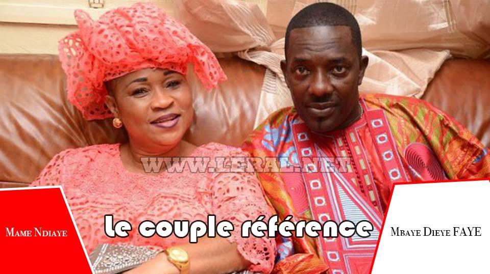 Saint Valentin 2018 : Mbaye Dièye et Mame Ndiaye, le couple référence