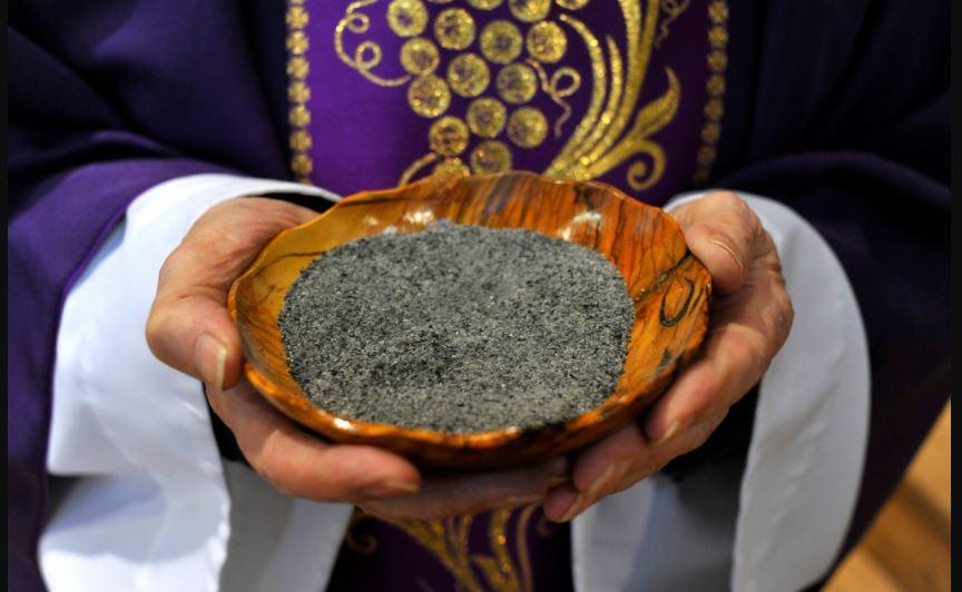 Les cendres, un symbole de Carême