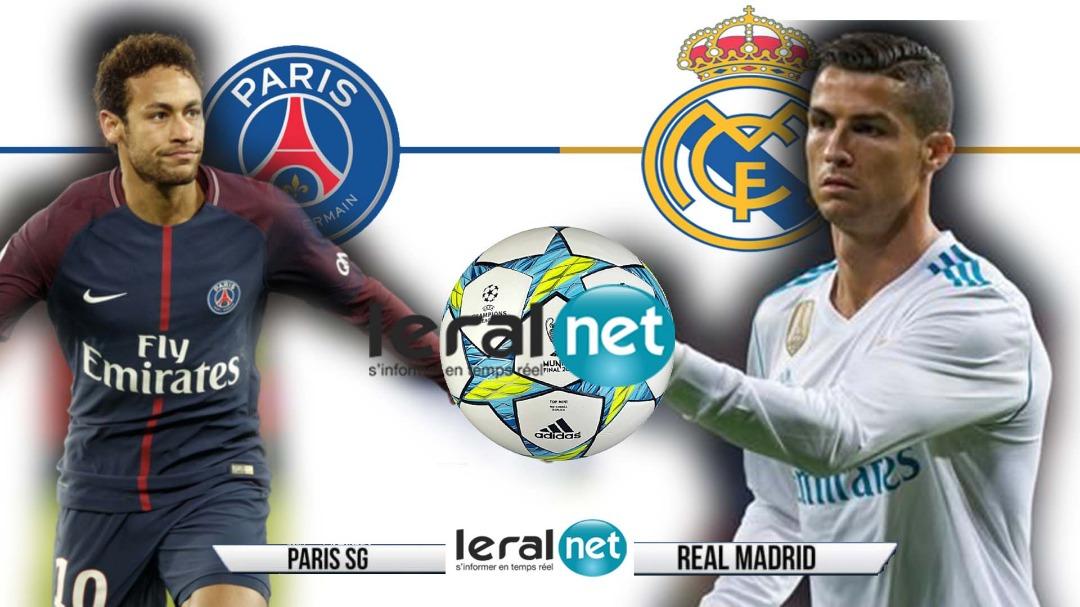 8e de finale aller de Ligue des Champions : Real Madrid / Paris SG à 19H45, ça va chauffer!