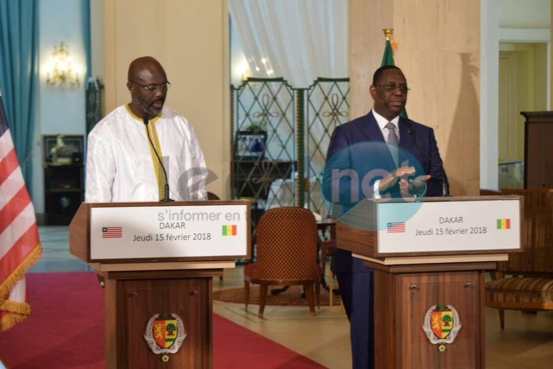 13 photos : Les images de la visite officielle de George Weah au Sénégal