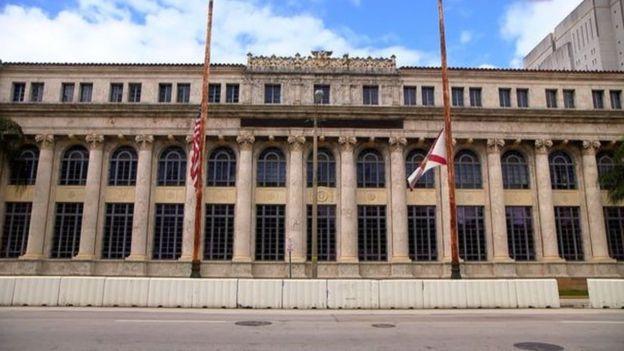 Le tribunal de Miami où a été jugé l'homme d'affaires malien (un tribunal aujourd'hui fermé).