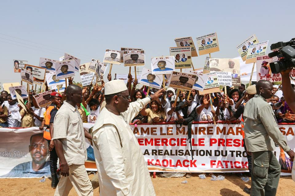 le Président Macky Sall dans le Saloum : « Le rêve d'hier est devenu une réalité »