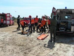Urgent : Un mort et 3 blessés dans un accident à Kaffrine