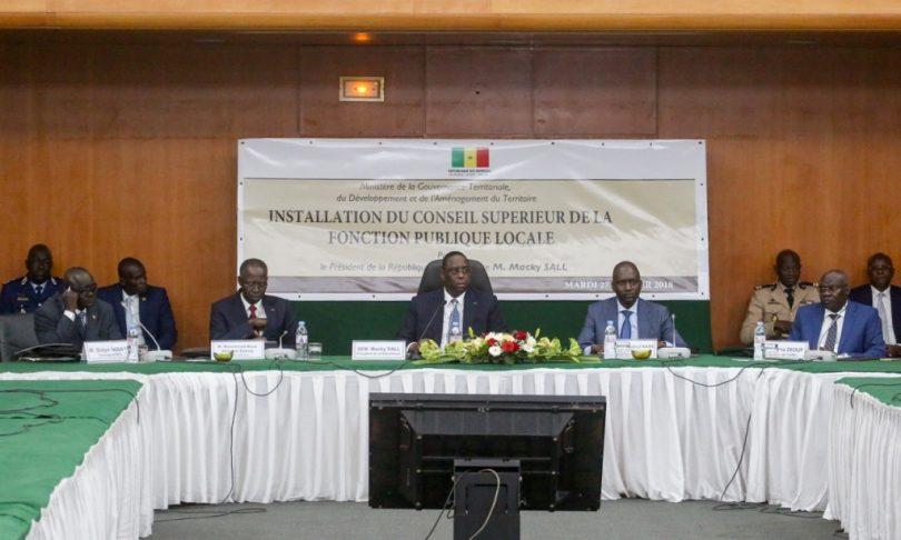Macky Sall: « un élu ne doit pas faire dans la dictature »