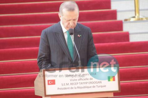 Erdogan remue le couteau dans la plaie de l'esclavage et condamne cet acte de barbare