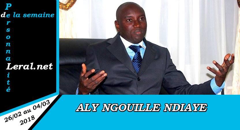 Aly Ngouille Ndiaye, personnalité Leral.net de la semaine