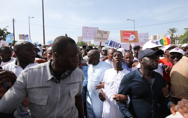 Urgent- Le sit-in devant le ministère de l'Intérieur interdit, l'opposition défie le Préfet de Dakar *