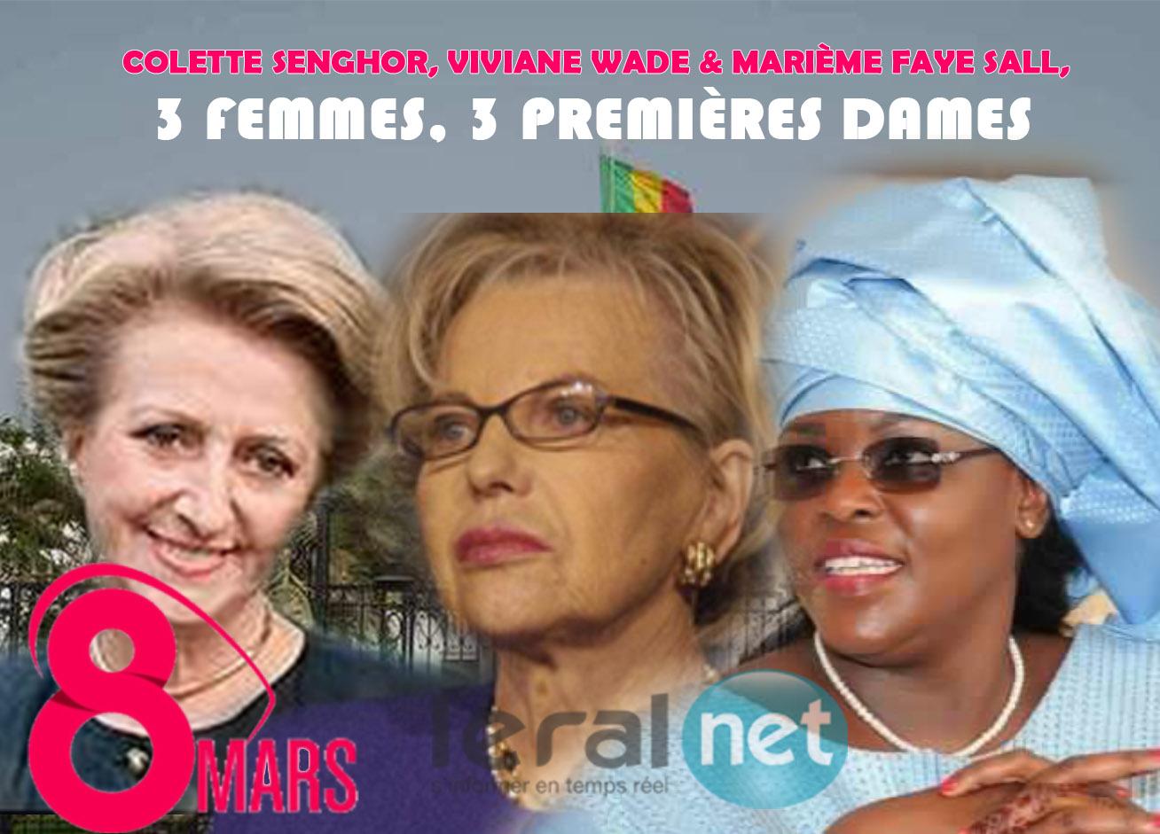 """Colette, Elizabeth, Viviane, Marième : Ces Premières dames sénégalaises qui ont """"régné"""" sur le Palais de l'avenue Roume"""