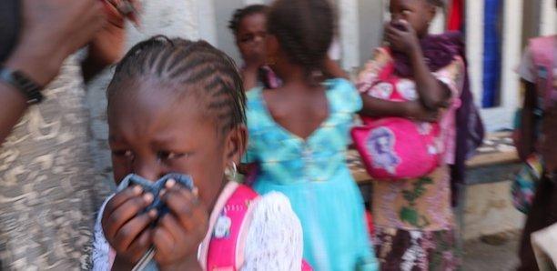 Les élèves de l'école Mame Yacine Diagne de Thiong, victimes des grenades lacrymogènes