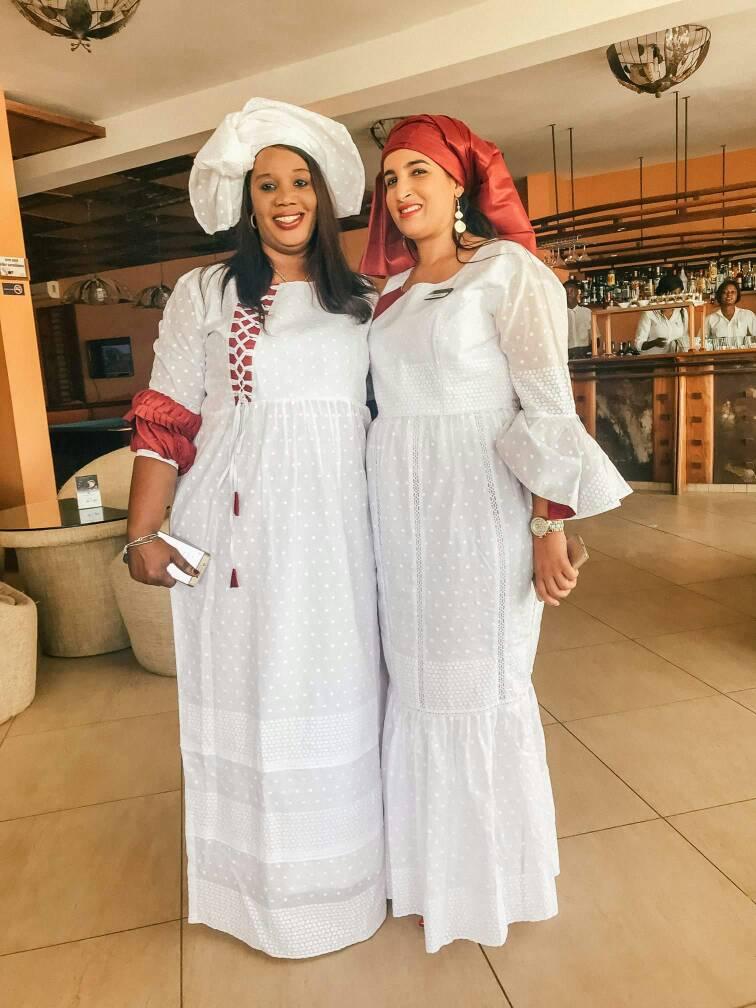 Photos : Marguerite Diouf et Khadija Kia, respectivement responsable des Ressources humaines et Dga du Lamantin Beach