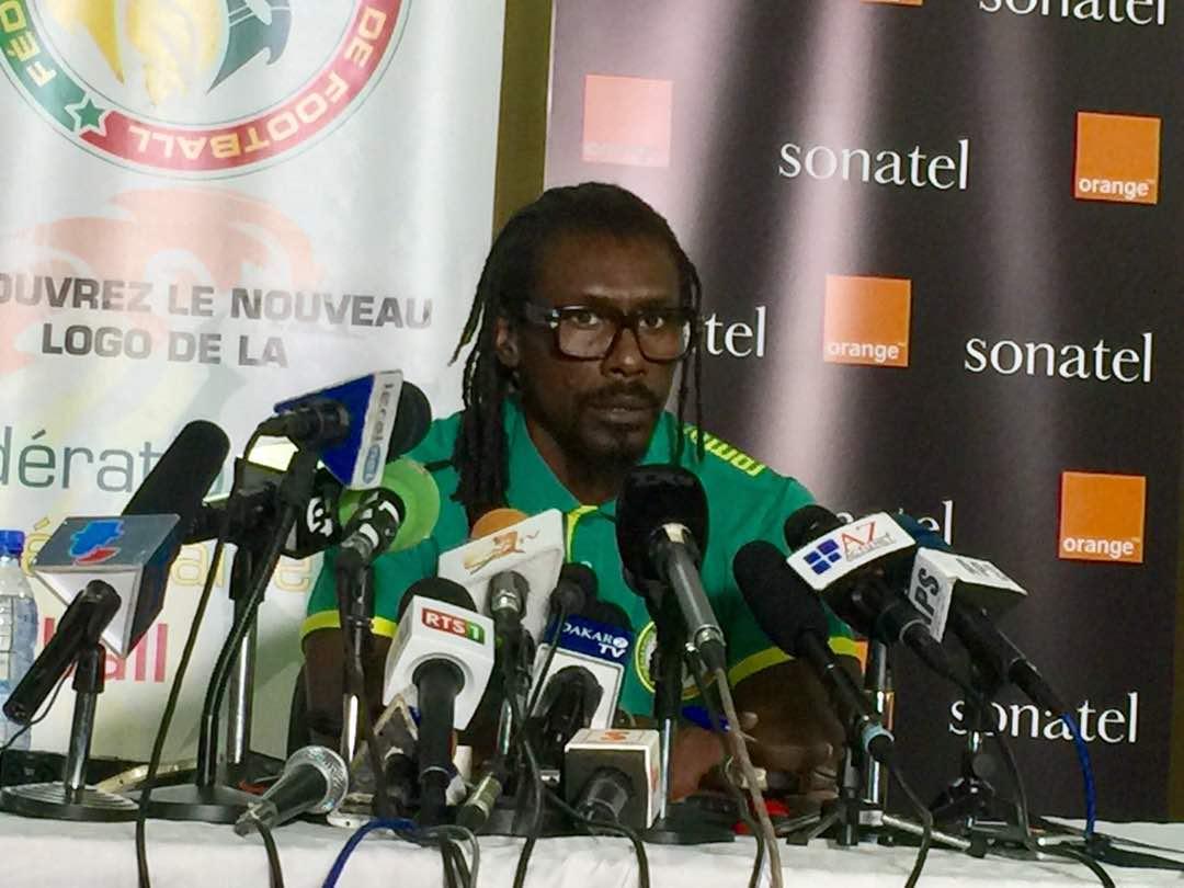 Aliou Cisse, coach des lions : « Le président de la République nous met un peu la pression »