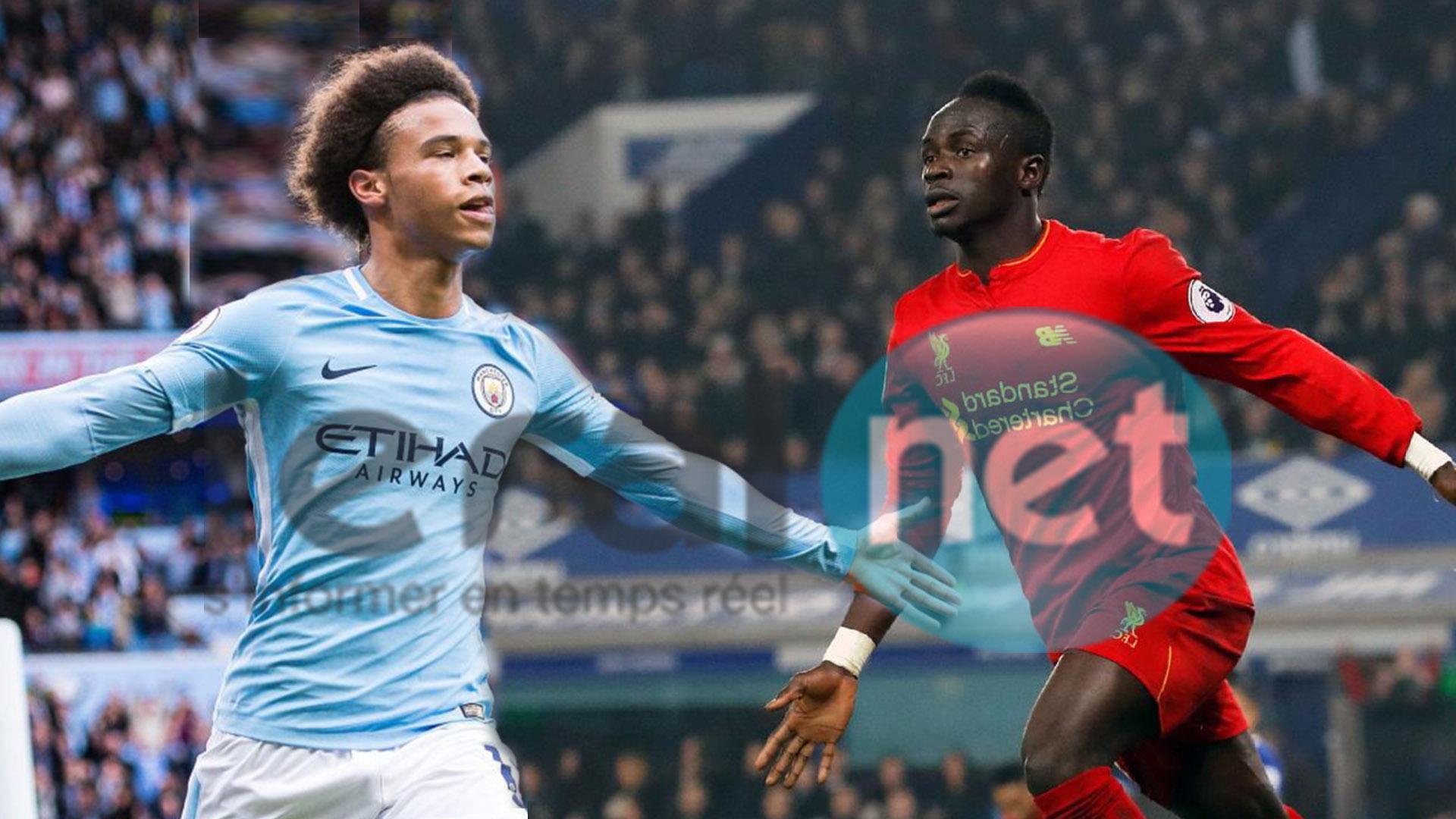 Liverpool - Manchester City en quart de finale : Sadio Mané à l'assaut de Leroy Sané