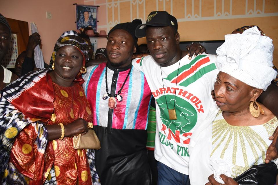 Ama Baldé et Boy Niang font la paix…leurs mamans pas en reste