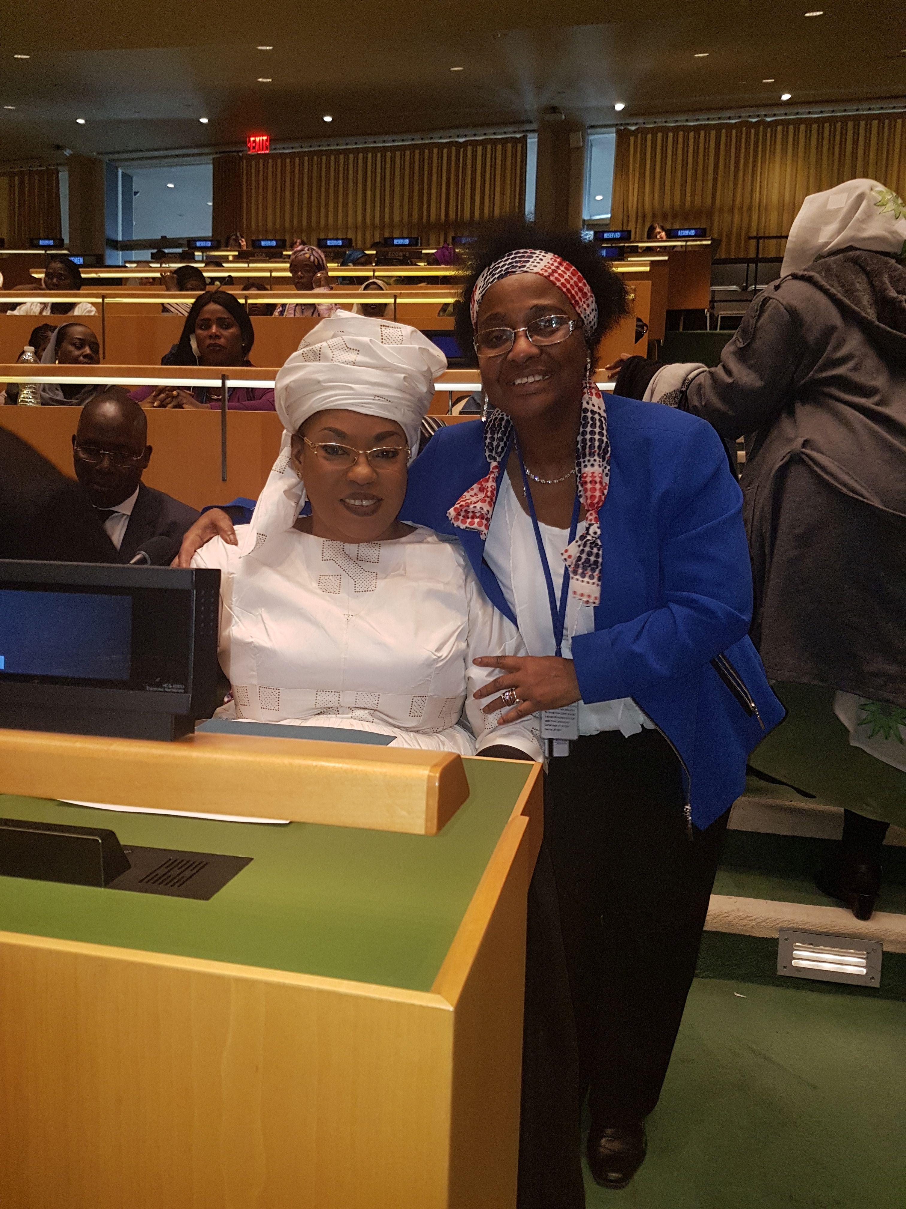 La voix féminine du Sénégal à New-York
