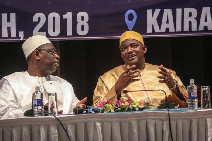 """""""La Gambie peut apprendre du Sénégal"""", a déclaré le Président Adama Barrow"""