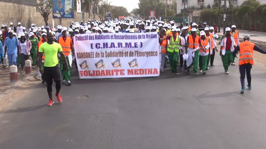 Inauguration du siège de l'APR à la Médina