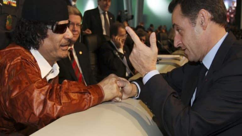 Affaire Khadafi : Nicolas Sarkozy démonte le franco-libanais Ziad Takieddine.