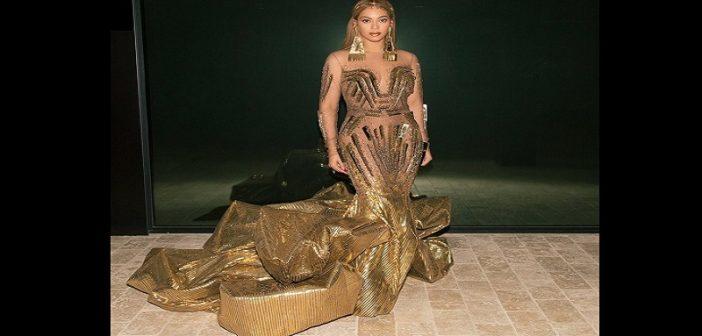 35 travailleurs et 10 jours pour finir une robe de Beyoncé