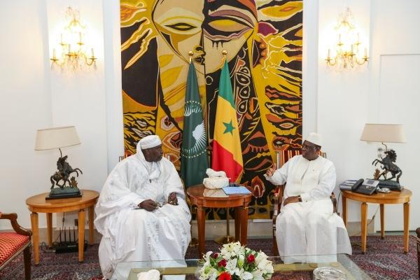 Crise de l'éducation : Reçu par Macky Sall, Abdoulaye Makhtar Diop s'engage à jouer un rôle de facilitateur