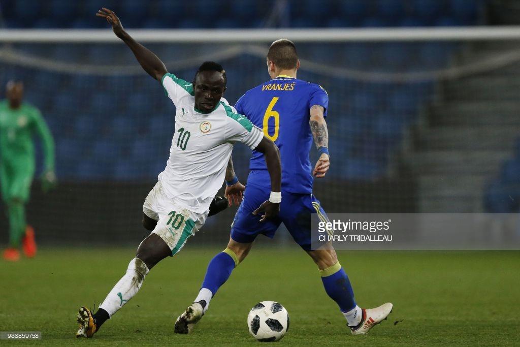 14 photos : Les images du match Sénégal-Bosnie au Havre