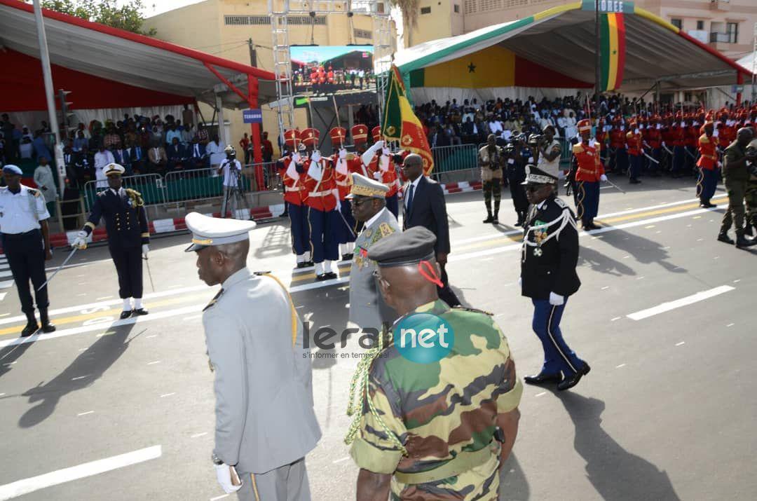 Les premières images de la célébration de la 58e édition de la Fête de l'Indépendance du Sénégal
