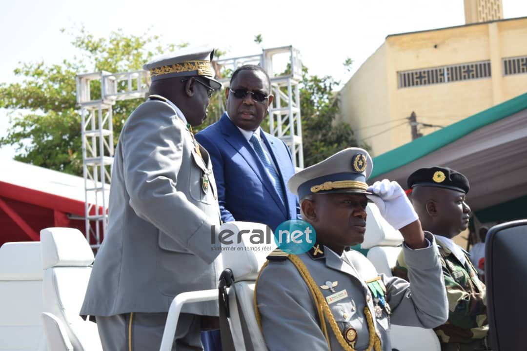 Fête de l'indépendance: Arrivée du Président de la République, Macky Sall