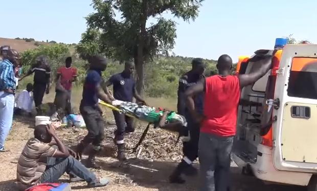 Kaffrine: 2 morts et 7 blessés dans un accident de la route