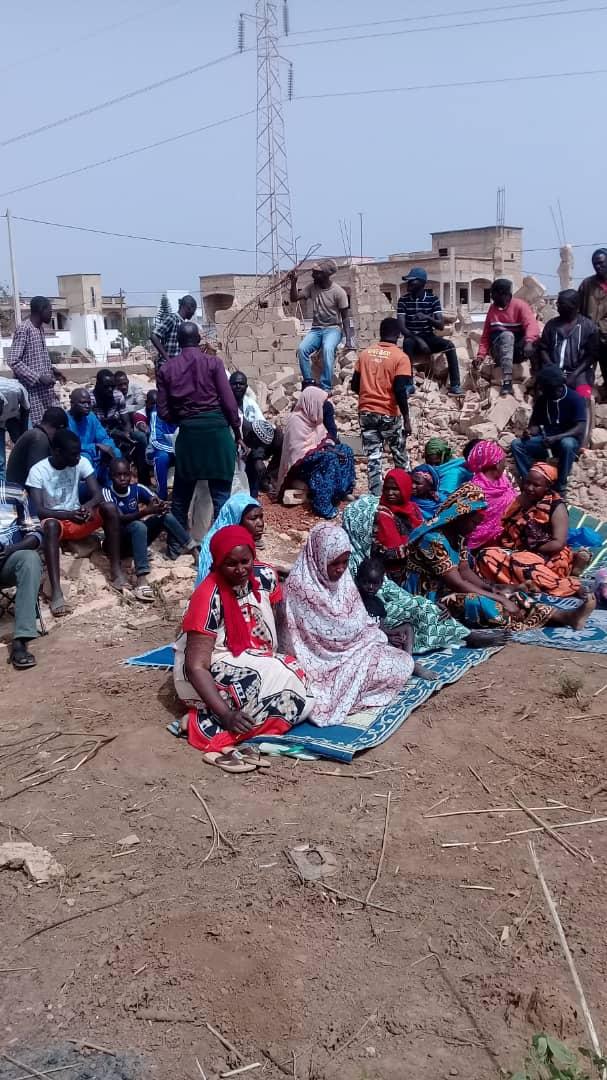 Grève de la faim des victimes des démolitions à Thiès : Une dame de 80 ans évacuée à l'hôpital