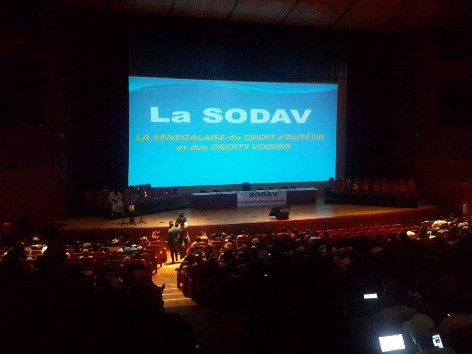 La SODAV va régulariser cinq ans d'arriérés de droits d'auteur (COMMUNIQUÉ)