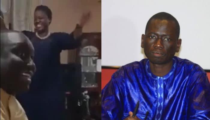 A gauche: Yaye Fatou Diagne et Aliou Sall (capture d'écran)