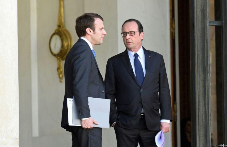 Hollande fait le bilan de son mandat et tacle Macron