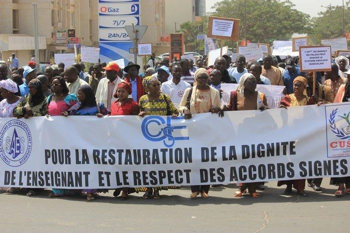 Répression de la marche du G6 » à Ziguinchor : Le SAES exprime son amertume et son indignation