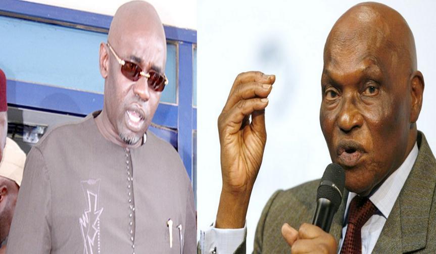 Abdoulaye Wade se démarque de Samuel Sarr