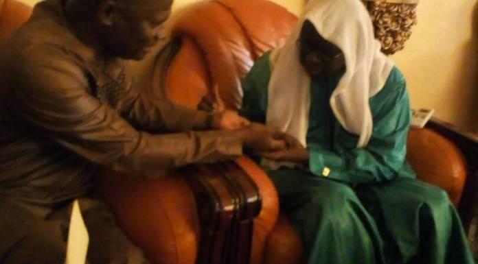 """Ousmane Faye à Yoff: """"Que les opposants au parrainage arrêtent de jouer à nous faire peur..."""""""
