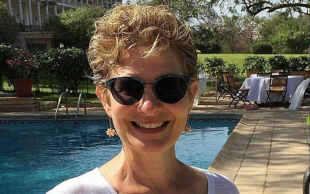 Jeannie Harrison, épouse de l'ambassadeur israélien au Sénégal.