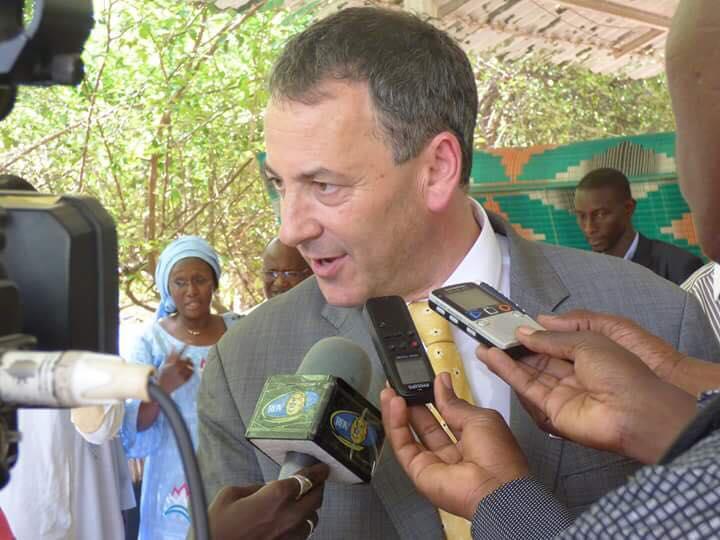 Paul Hirschson, ambassadeur d'Israël au Sénégal