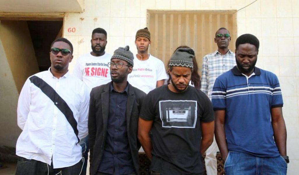Sept membres du mouvement Y en a marre arrêtés