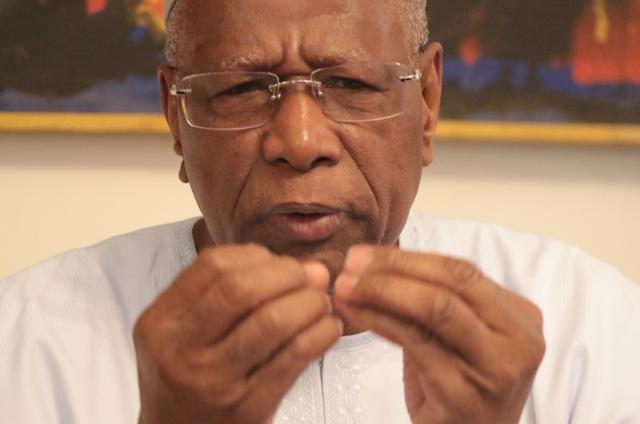 Abdoulaye Bathily:« je n'ai pas rencontré le chef de l'Etat depuis plus d'un an »